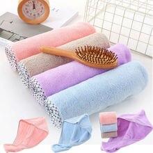 Twist Dry Shower Microfiber Hair Wrap Towel Drying Bath Spa Head Cap Hat Women Bath Towel lx 9009 cozy fiber bath towel shower cap deep pink