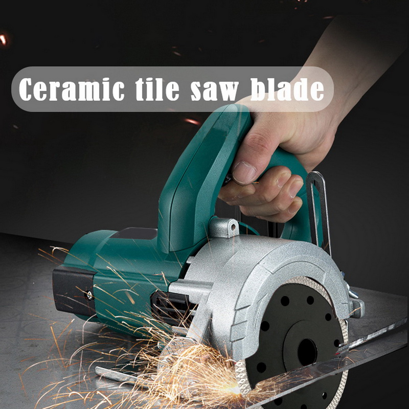 Diamond Tile Blade Porcelain Saw Blade 1Pcs Angle Grinder Blade Marble Chip Microcrystalline Vitrified Ceramic Tile Cutting Disc