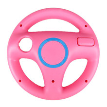 цена на 2PCS Game Racing Steering Wheel for Nintendo Wii for Wii Kart Gaming Remote Controller Game Accessories 3 Colors