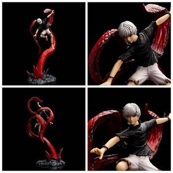 Figura de Ken Kaneki golpeando con su Kagune de Tokyo Ghoul (43cm) Figuras Tokyo Ghoul