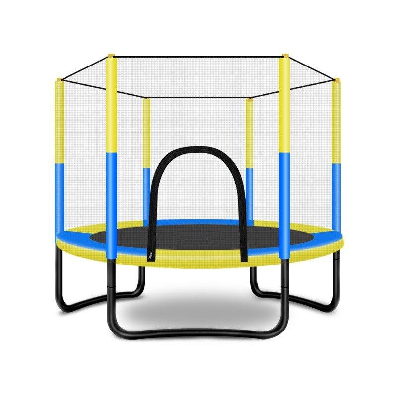 60 cal trampolina z obudowy bezpieczeństwa-wewnątrz lub trampolina zewnętrzna dla dzieci