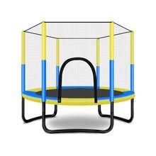 Trampoline de 60 pouces avec enceinte de sécurité, Trampoline d'intérieur ou d'extérieur pour enfants