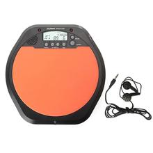Electric Electronic Digital Drum Pad Drummer Training Practice Percussion Drum Pad Metronome with Stereo Earphone