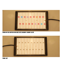 Samsung LM301H Dimmable 150w 3000K/3500K 660nm UV IR grow light quantum tech led board Turn ON/OFF Switch with Meanwell driver