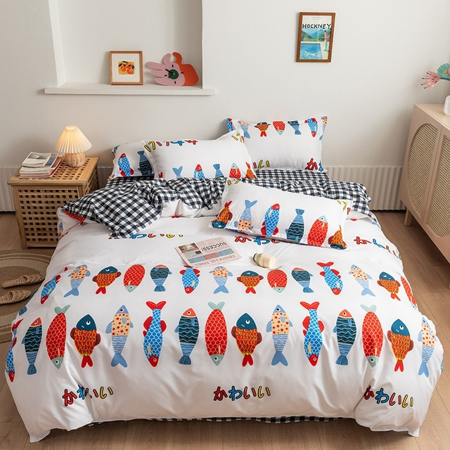 Classic Bedding Set Little Fish