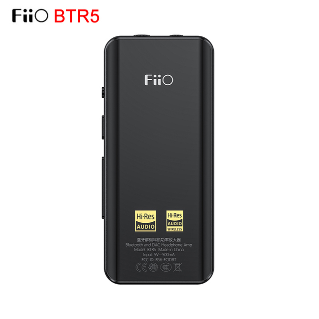 Fiio BTR5 היי Res USB DAC Bluetooth 5.0 ES9218P CSR8675 אוזניות מגבר 3.5mm 2.5mm מאוזן AAC/SBC/aptX/aptX LL/aptX H/LDAC