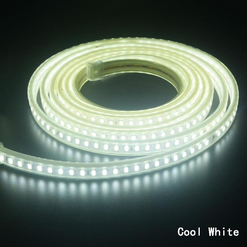 Led Strip Light 5730 220V SMD Flexible Tape Ribbon 5630 120LED/M 1m 2m 3m 5m 6m 8m 9m 10m + Power EU Plug