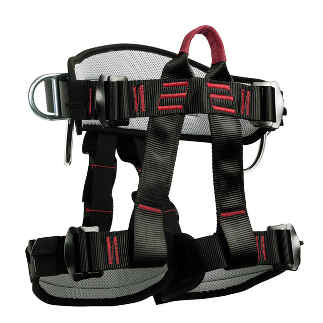 Camping Safety Belt 25KN Outdoor Rock Climbing Outdoor Expand Training Half Body Harness Protective Supplies Survival Equipment