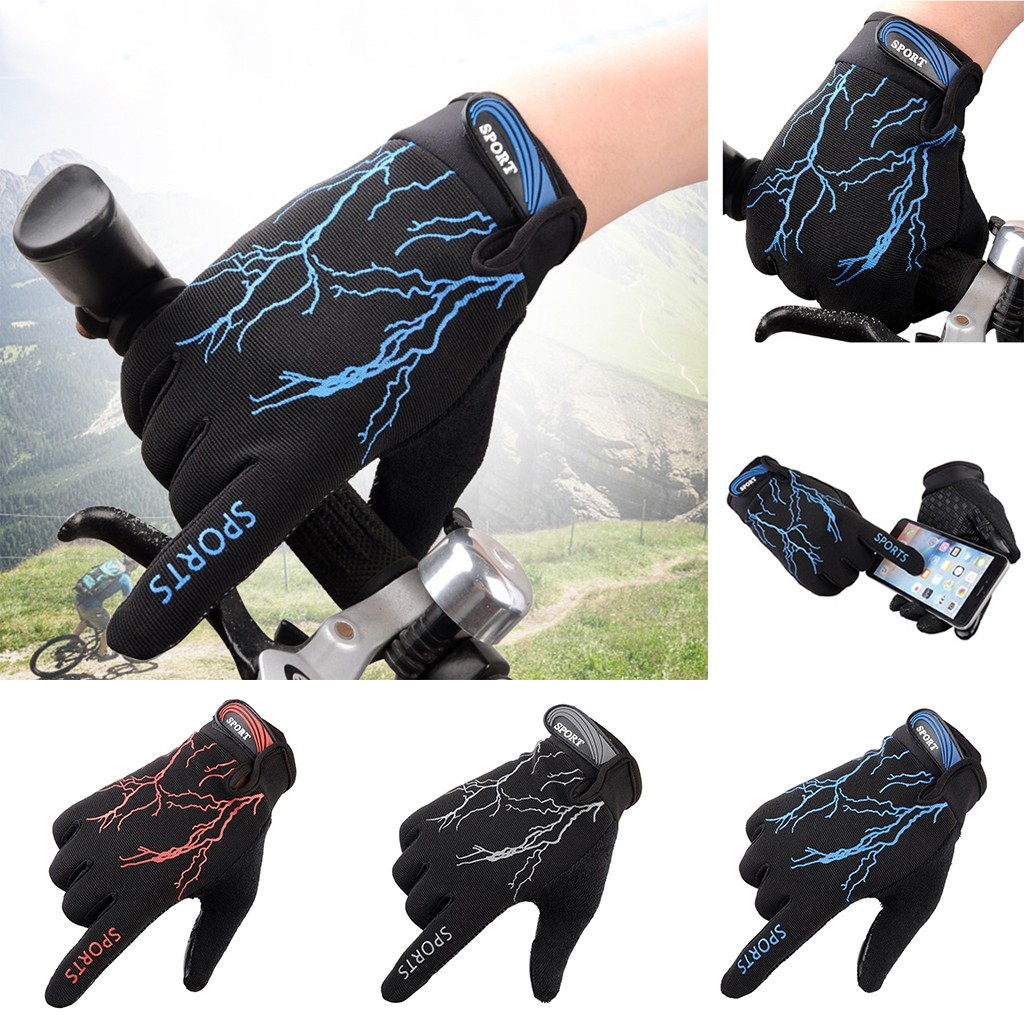 Men Outdoor Sports Riding Gloves Tight Non-slip Shock Absorption Wear Mitten Winter Gloves Guantes Handschoenen Rekawiczki Luvas