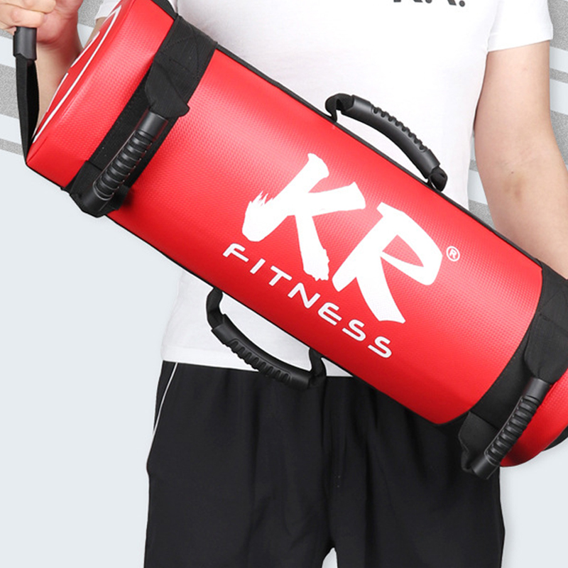 5/10/15/20/25/30KG Adult Muscle Training PU Leather Power Bag Unfilled Fitness Body Building Gym Sports Sand Bags Heavy Duty