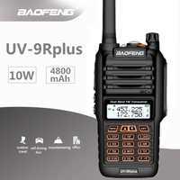 2019 baofeng 10 w UV-9R mais à prova dwaterproof água walkie talkie uhf vhf marinha cb ham rádio estação hf transceptor rádio amador scanner