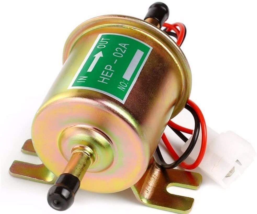 12V 24V High Quality Low Pressure Universal Diesel Petrol Gasoline Electric Fuel Pump HEP-02A For Car Motorcycle