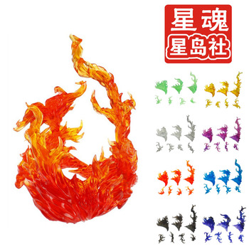 Tamashii эффект пламени модель Kamen Rider SHF фигурку огонь сцен игрушки специальный эффект игрушки аксессуары