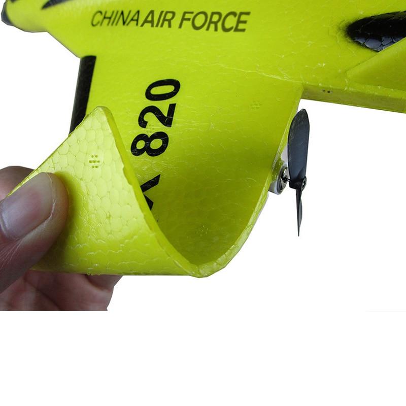FX-820 2.4G 2CH Remote Control SU-35 Glider 290mm Wingspan EPP Micro Indoor RC Airplane Aircraft RTF Paper RC Drone