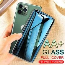 Vidro temperado Para iphone 11 X XR XS MAX protetor de tela no iphone 11 Pro MAX Vidro De Proteção iphone 11 tela de proteção pró