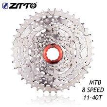 NUOVO ZTTO 8 s 11-40 T Cassette 8 Velocità Ruota Libera Acciaio Inox Volano Parti di Biciclette per m410 K7 X4 Mountain bici