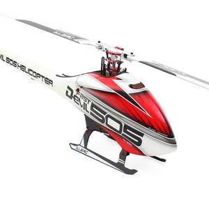 Image 2 - Alzrc 505 helicóptero diabo 505 jogo rápido do fbi com hélice e capô
