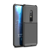 style protective For Vivo V17 Pro Case Business Style Silicon Rubber Shell TPU Back Phone Cover For Vivo V17 Pro Protective Case For Vivo V17 Pro (2)