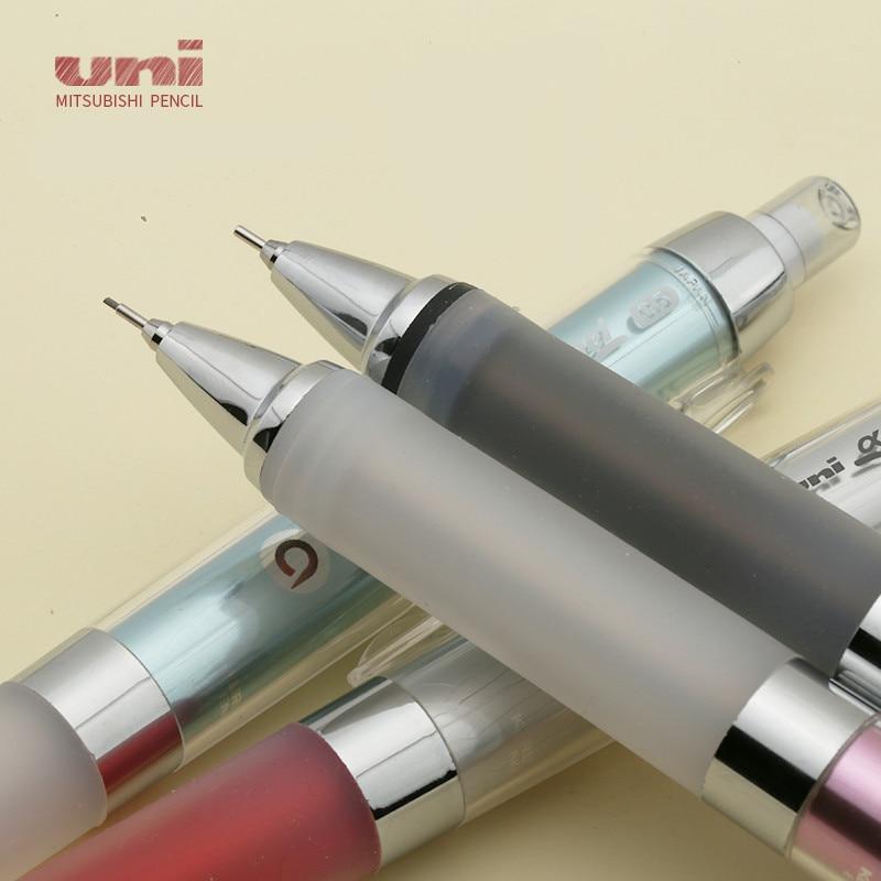 1pc Uni M5-858GG Alpha Gel Kuru Toga Series Auto Lead Rotation With Super Grip Mechanical Pencil 0.5mm Student School Supplies