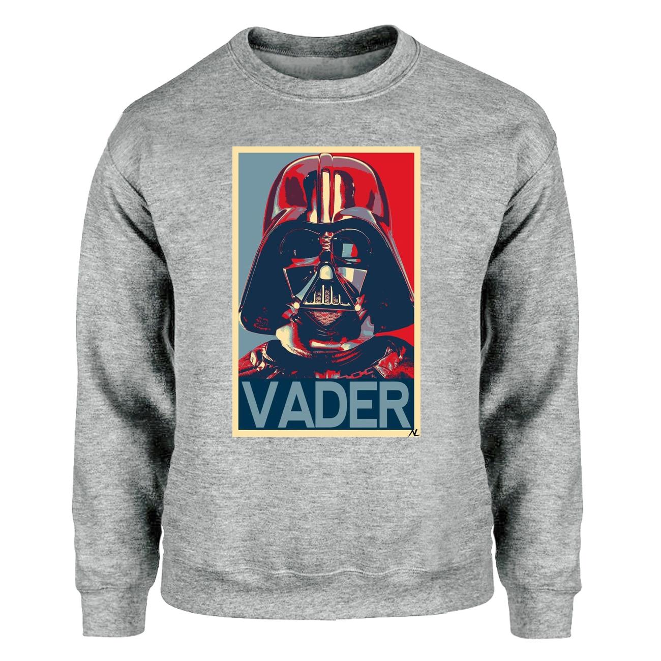 Star Wars Hoodies Sweatshirts Men Darth Vader Crewneck Sweatshirt Winter Autumn Starwars Streetwear Balck Gray White Sportswear