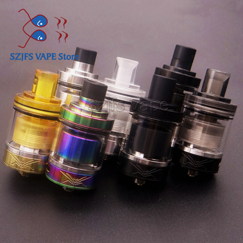 цена на WASP NANO RTA Tank 23mm Atomizer Top Refill Design & PCTG Drip Tip E-cigarette Vape Tank 2ml Capacity vs dead rabbit v2 FLAVE rd