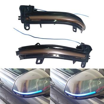 цена на Rearview mirror Dynamic Blinker Turn Signal LED light for BMW F20 F30 F31 F21 F22 F23 F32 F33 F34 X1 E84 F36 1 2 3 4 F87 M2 lamp