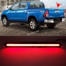 1Set LED COB Reflector Lamp Rear DRL for Toyota Hilux Revo 2015 2016 2017 2018 brake light Reverse light Trunk lamp tail light(China)