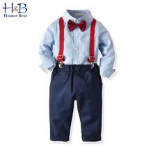 Humor Bear Boys Clothing Sets Children's Spring & Autumn Gen
