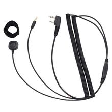 Headset Helmet Bluetooth Baofeng uv-5r Vimoto Connecting-Cable Walkie-Talkie-Accessories
