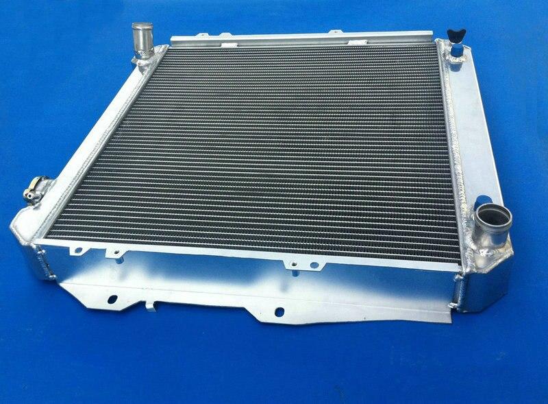 Новые 3 ряда Алюминий радиатора и вентилятор для Toyota 1988-1995 пикап 4runner 3.0L V6 88 89 90 91 92 93 94 95