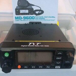 Image 5 - TYT MD 9600 ثنائي النطاق 136 174MHz و 400 480Mhz راديو المحمول الرقمي 50/45/25W جودة عالية راديو DMR + 1 كابل برجمة