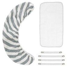 1 Set Home Ironing Mat Thermal Insulation Ironing Pad Anti-slip Ironing Cover