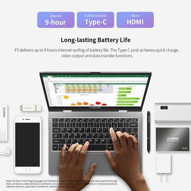 Teclast F5 Laptop 11.6 6