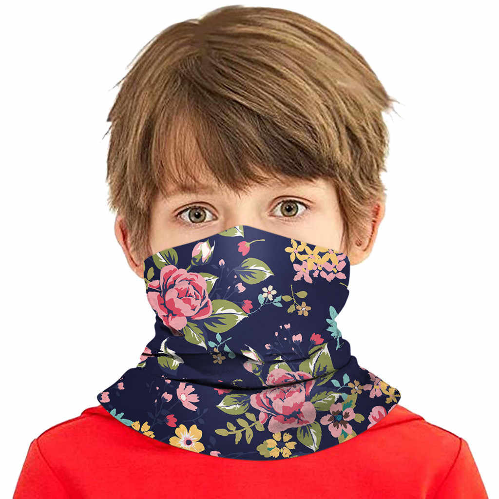 Pure Cotton Multifunctional Sunscreen Outdoor Neck Gaiter Head Face Cover Scarf