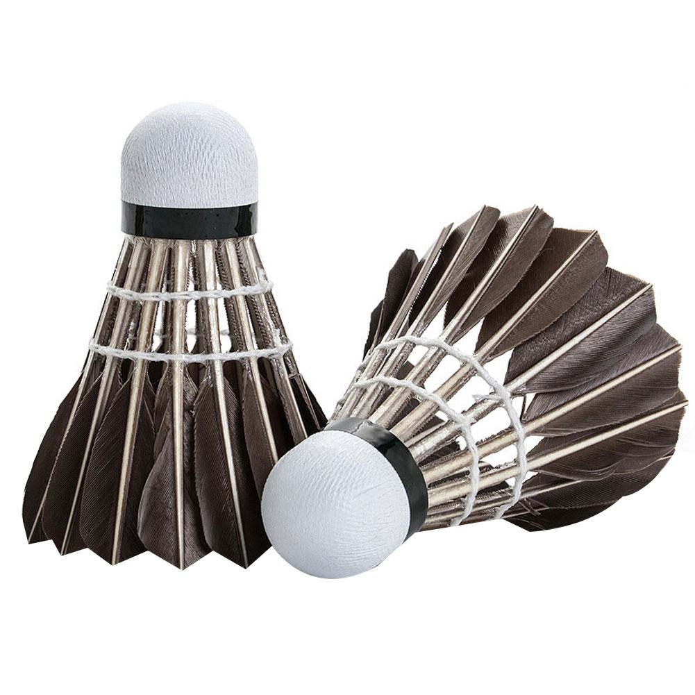 12Pcs Durable Flying Stability Badminton Shuttlecock Training Ball Accessory