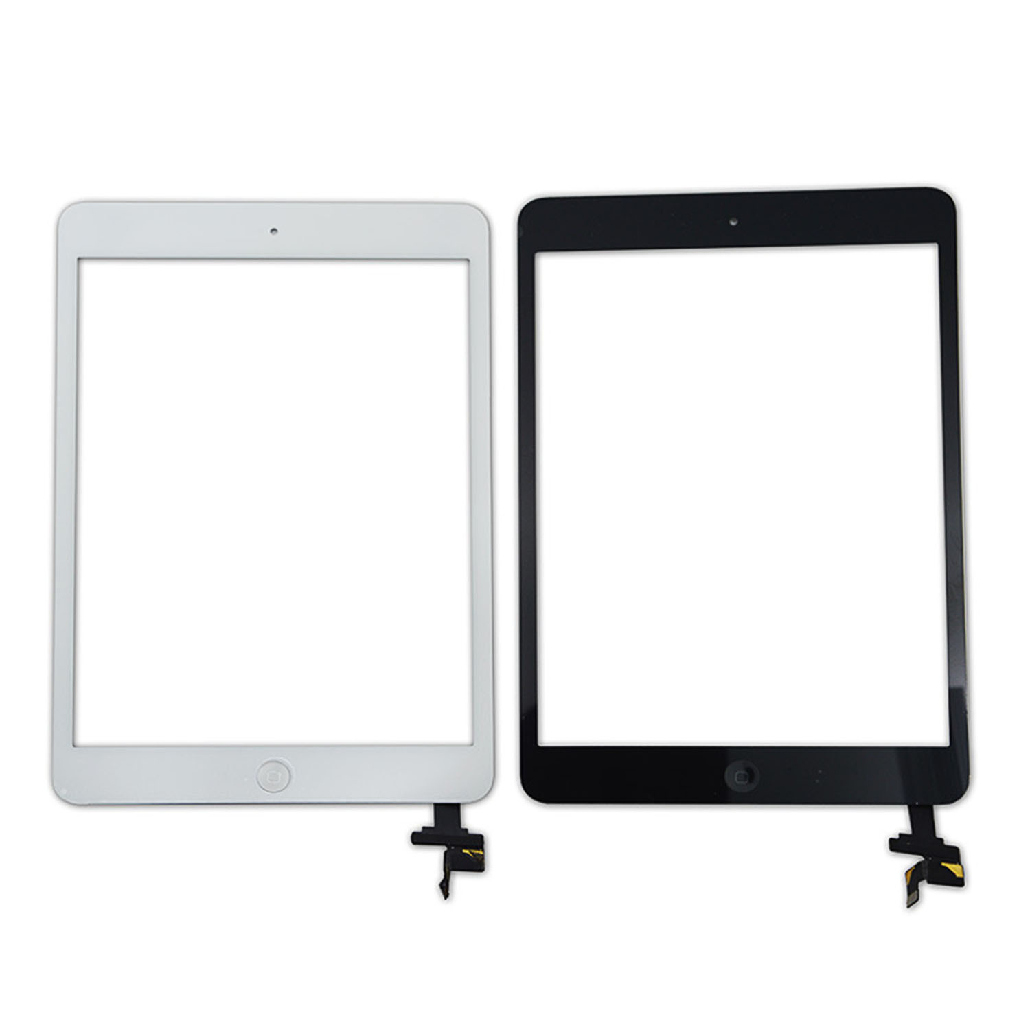 Besegad Touch Screen Digitizer Front Glass Replacement with Home Button Adhesive Camera Bracket for Apple <font><b>iPad</b></font> <font><b>Mini</b></font> 1 2 <font><b>A1432</b></font> image