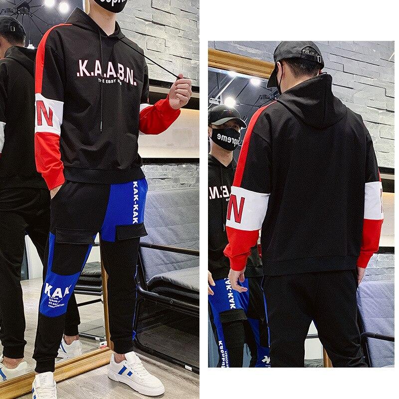 Hoodie Men's Hooded Trend Men's Sweatshirts & Hoodies BOY'S Sports Casual Hoodie Suit Men Spring And Autumn Popular Brand Coat H