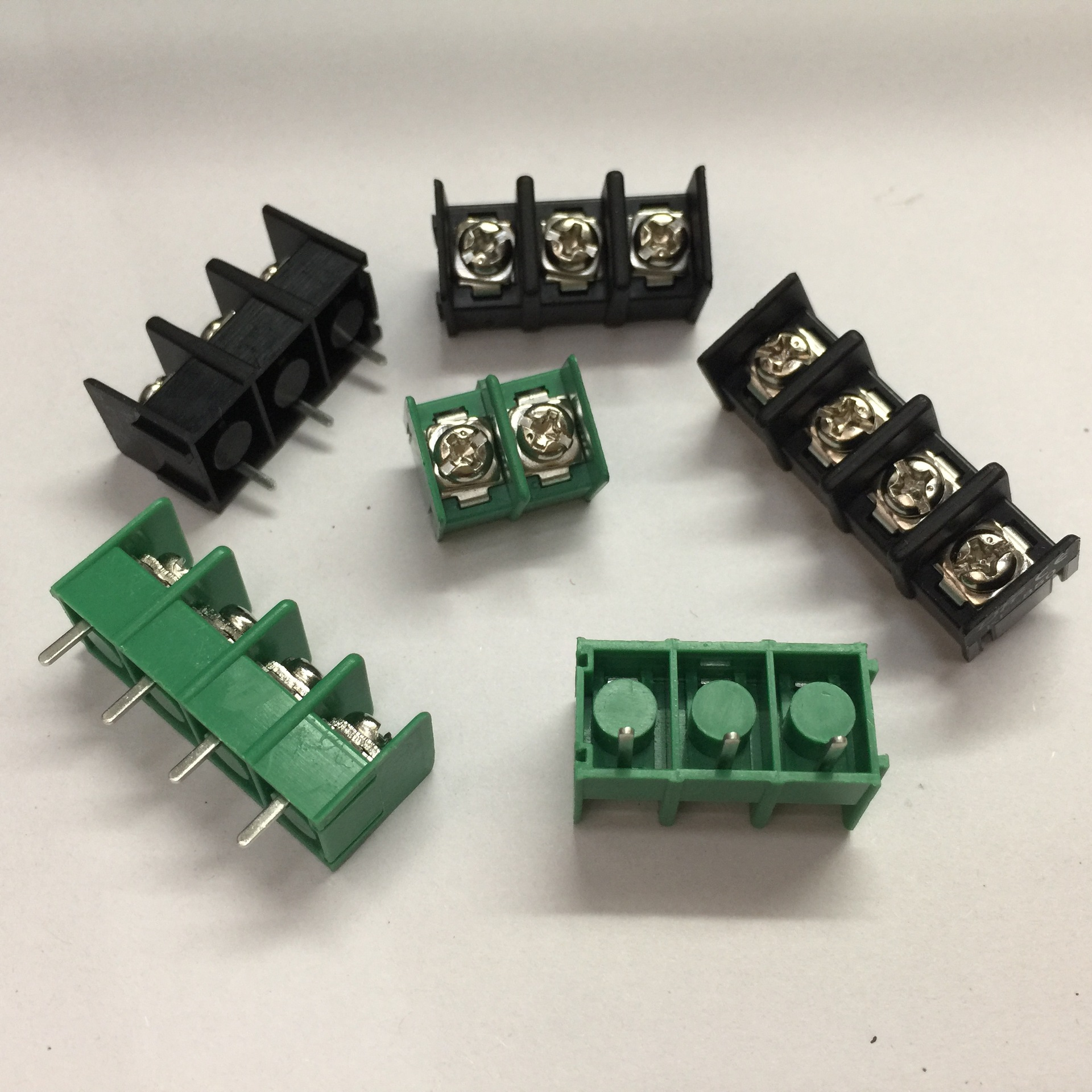 10 pcs 128-2P 2 Pin 5.0mm Pitch PCB Screw Terminal Block Connector 2 Positions