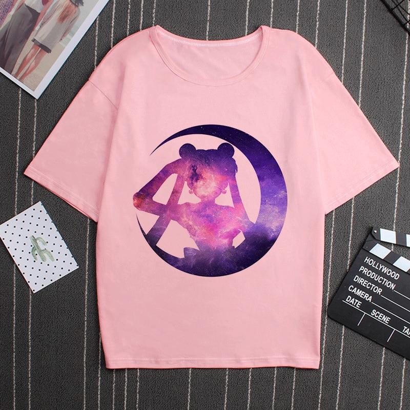 Kawaii Sailor Moon 90s Tshirt 2
