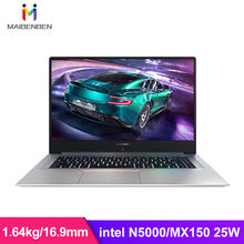 "Maibenben Xiaomai 6 Polen Intel N5000 + Geforce MX150 Grafische Kaart/8G Ram/240G Ssd/win10/Dos/15.6 ""45% Ntsc Notebook Metalen Laptop(China)"