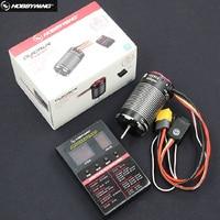HobbyWing QuicRun Fusion 540 1200KV / 1800KV Brushless ESC Do Motor Construído Em 40A 2 em 1 Sensorial para RC 1/10 carro de escalada