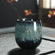 Ceramic 150ML China Tea Cup Kiln Change Ceramic Home Tea Cup Creative ceramic cup