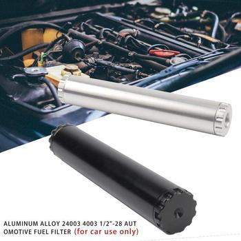 11 sztuk sitko samochodowe 6061-T6 ze stopu aluminium 1 2 #8222 -28 samochodowy filtr paliwa (tylko do użytku samochodowego) dla NAPA 4003 WIX 24003 czarny tanie i dobre opinie Aluminum Alloy Fuel filter