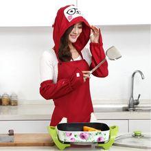 Кухонный Фартук с рукавами милый корейский креативный модный