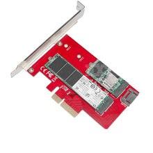 Sedna 2 Port NGFF M.2 B + M Key SSD to PCI-E PCI Express 4X 4 Lane Adapter with low profile bracket