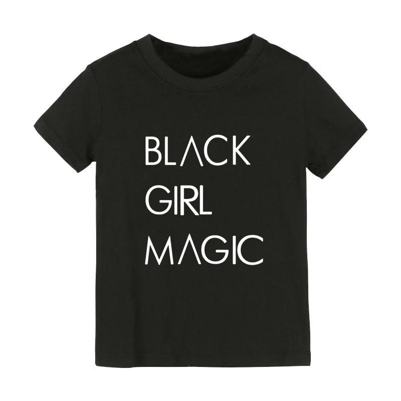 Black Girl Magic T-shirt Adults and Children