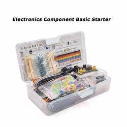 Elektronische Komponente Assorted Kit für Arduino Raspberry Pi STM32 mit 830 Tie-punkte Breadboard Netzteil Set