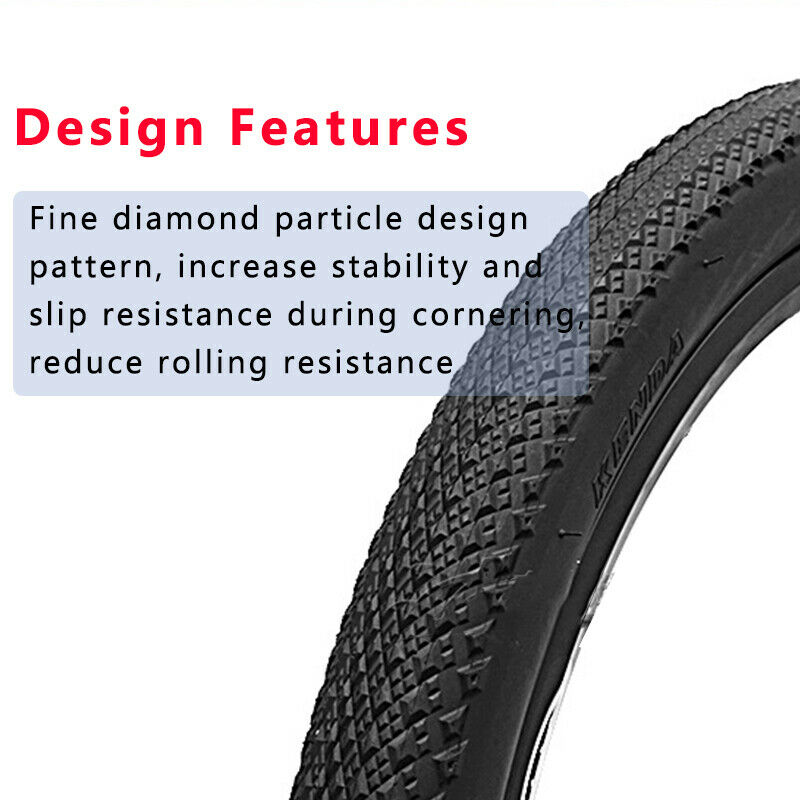 Clincher 26//27.5*1.95 65PSI 30TPI Black Tire Mountain//Folding//BMX Bicycle Tyre