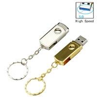 Metall Hohe Geschwindigkeit USB 3.0-Stick Mini Pen Drive 64GB 32 GB-Stick 16GB 8GB USB Stick 4GB Geschenk Reale Kapazität