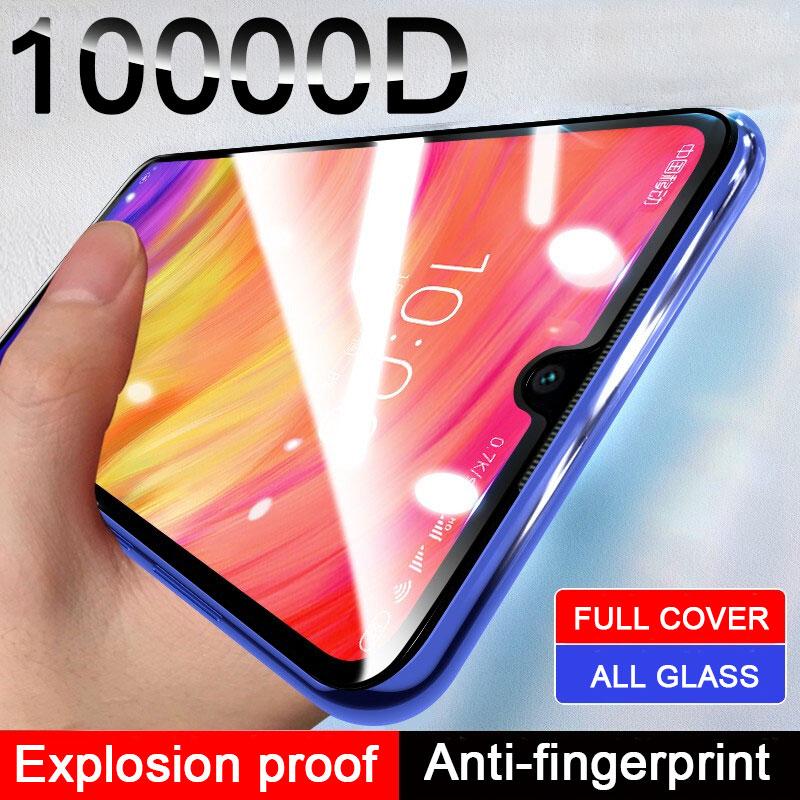 Полное покрытие закаленное стекло для Xiaomi Redmi Note 7 6 5 8 Pro 8T 9 Pro Max 9S Защита экрана для Redmi 5 Plus 7 8 стеклянная пленка|Защитные стёкла и плёнки|   | АлиЭкспресс - Я б купил